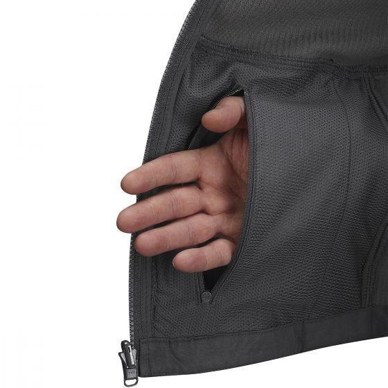 Propper felpa con zip Tech in Charcoal