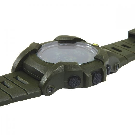 First Tactical orologio Canyon digitale con bussola in OD Green