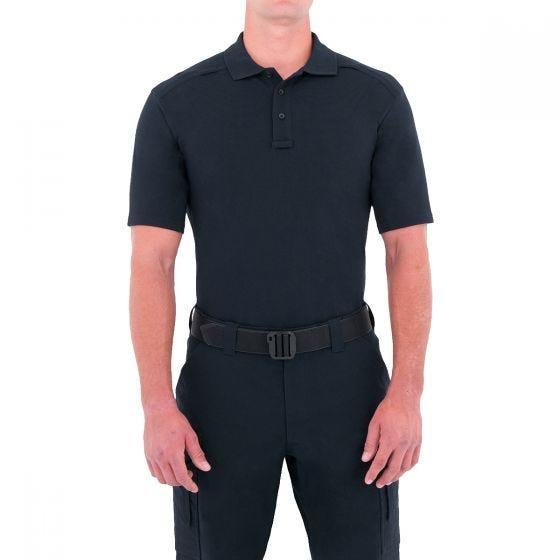 First Tactical maglietta uomo stile polo a manica corta con tasca per penna in Midnight Navy