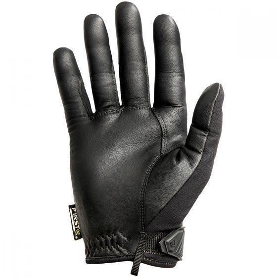First Tactical guanto con nocche rigide uomo in nero