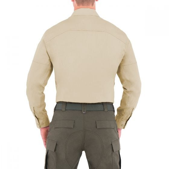 First Tactical camicia BDU Specialist maniche lunghe uomo in kahki