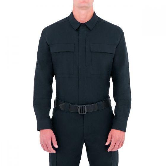 First Tactical camicia BDU Specialist a maniche lunghe uomo in Midnight Navy