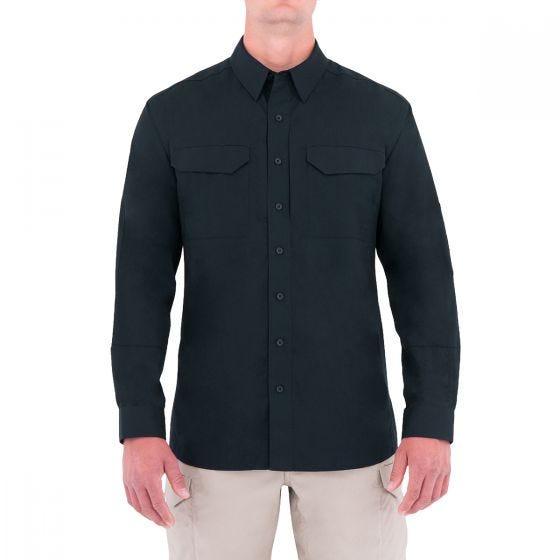 First Tactical camicia BDU Tactical a maniche lunghe uomo in Midnight Navy