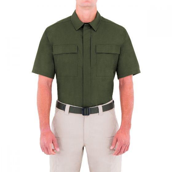 First Tactical camicia BDU tattica Specialist mezza manica uomo in OD Green
