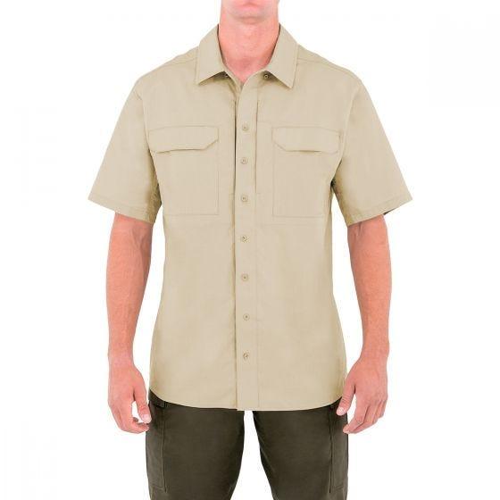 First Tactical camicia BDU tattica Specialist a mezza manica uomo in kahki