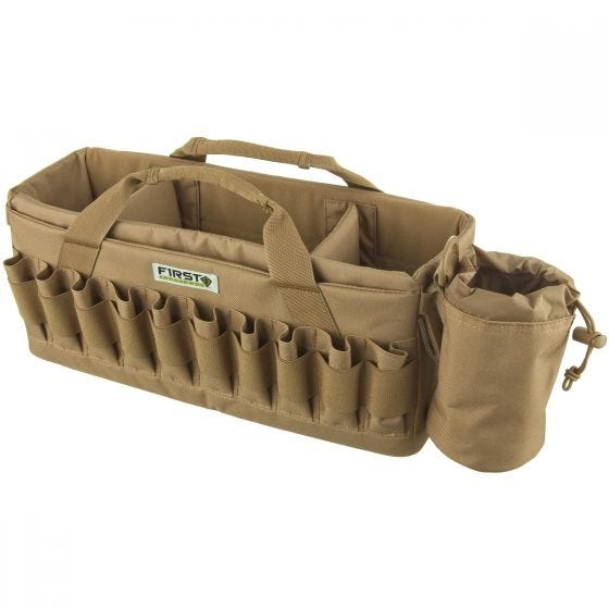First Tactical borsa Recoil Range in Coyote