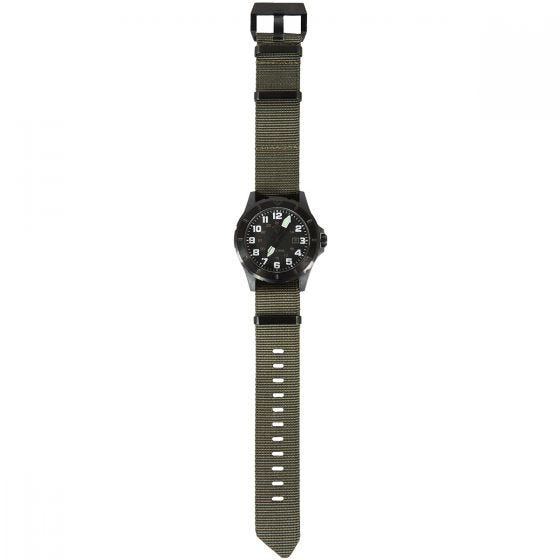 First Tactical orologio Ridgeline con cassa in carbonio in OD Green