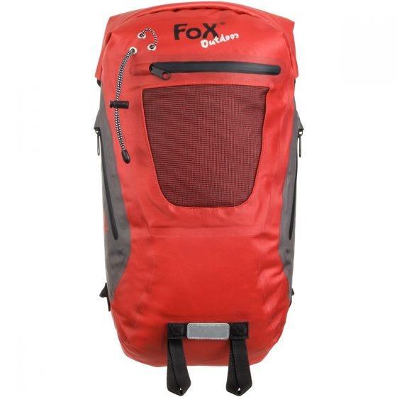Fox Outdoor zaino impermeabile DRY PAK 20 in rosso