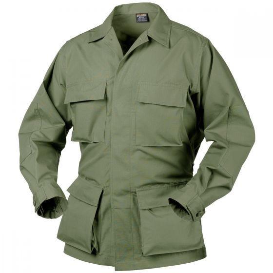 Helikon camicia Genuine BDU in policotone ripstop in verde oliva