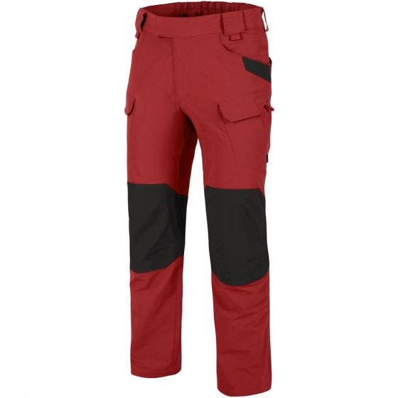 Helikon pantaloni Outdoor Tactical in Crimson Sky/nero