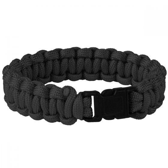 Helikon bracciale Survival in nero