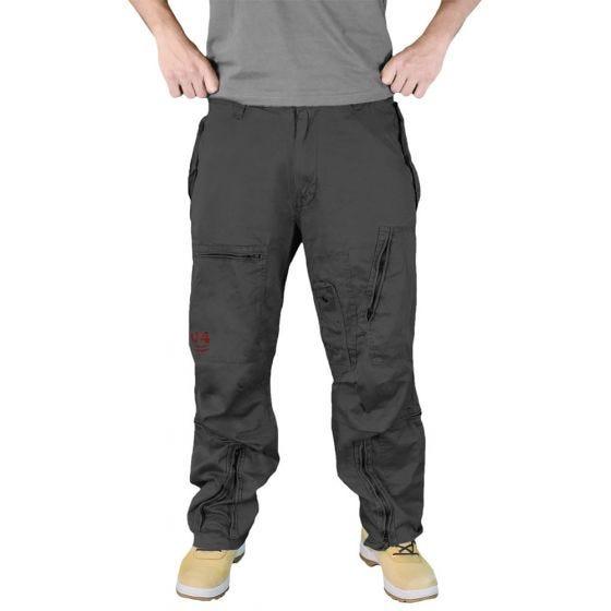 Surplus pantaloni cargo Infantry in nero