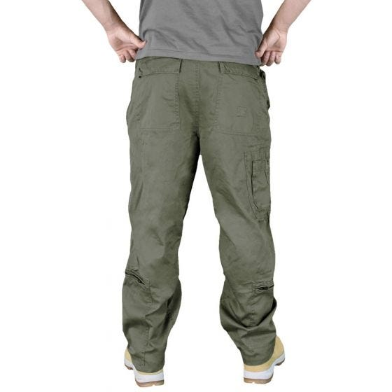 Surplus pantaloni cargo Infantry in verde oliva