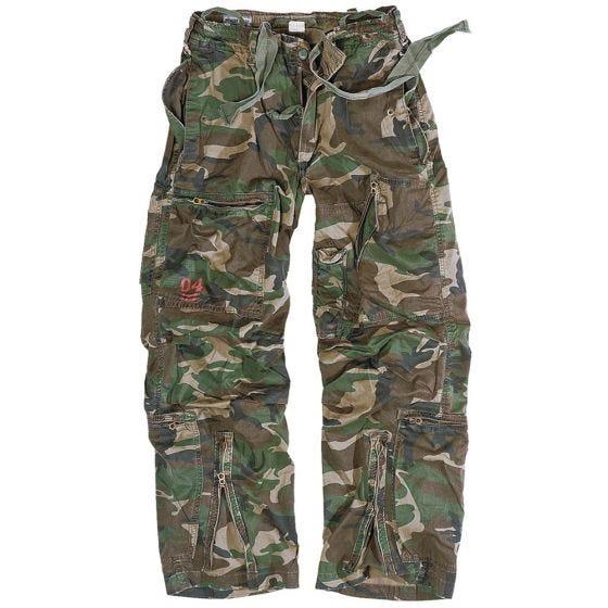Surplus pantaloni cargo Infantry in Woodland