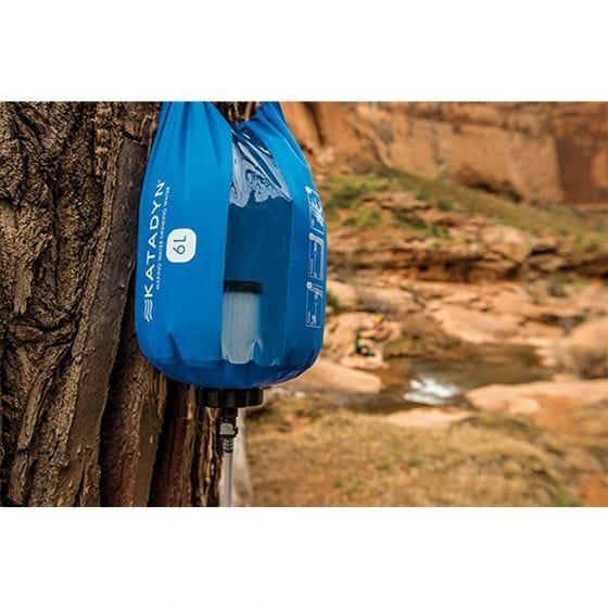 Katadyn filtro per l'acqua Base Camp Pro 6L in blu