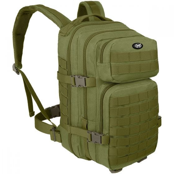 MFH zaino Assault I in OD Green