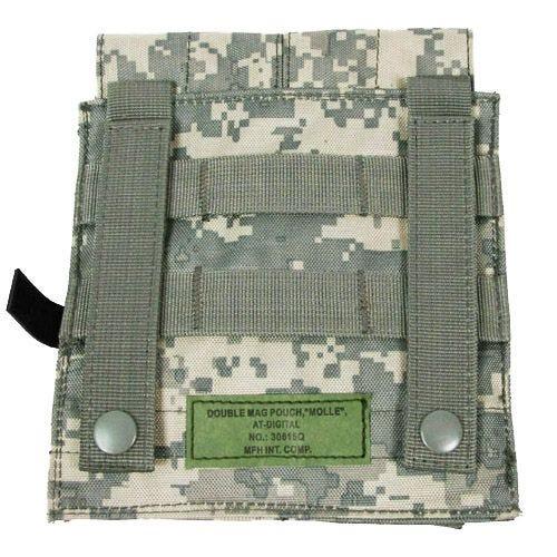 MFH custodia doppia portacaricatore M4/M16 MOLLE in ACU Digital