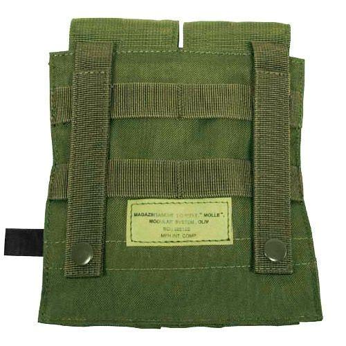 MFH custodia doppia portacaricatore M4/M16 MOLLE in verde oliva