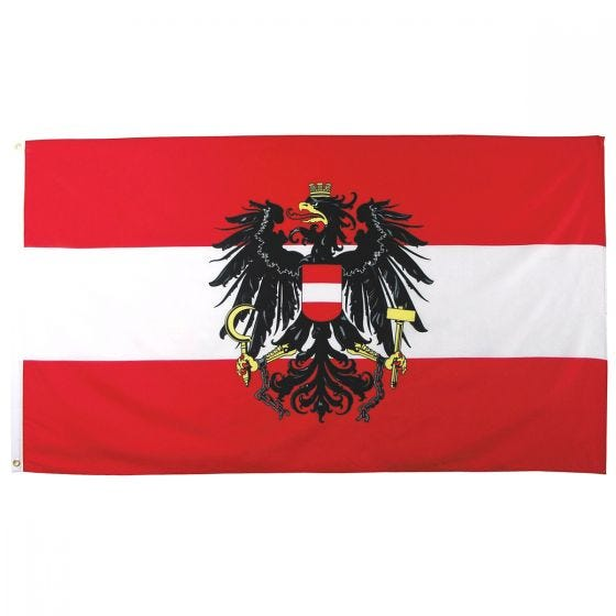 MFH bandiera Austria 90 x 150 cm