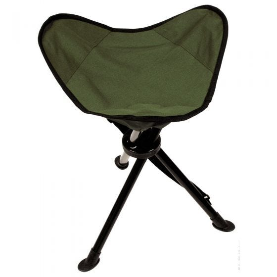 MFH sedia pieghevole treppiedi con custodia