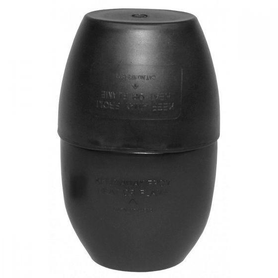 MFH borraccia stile britannico con tazza in nero