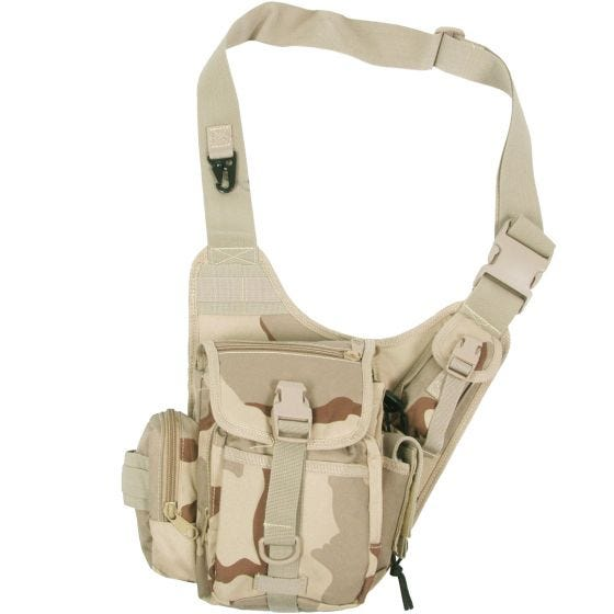MFH borsa monospalla da combattimento in Desert 3 colori