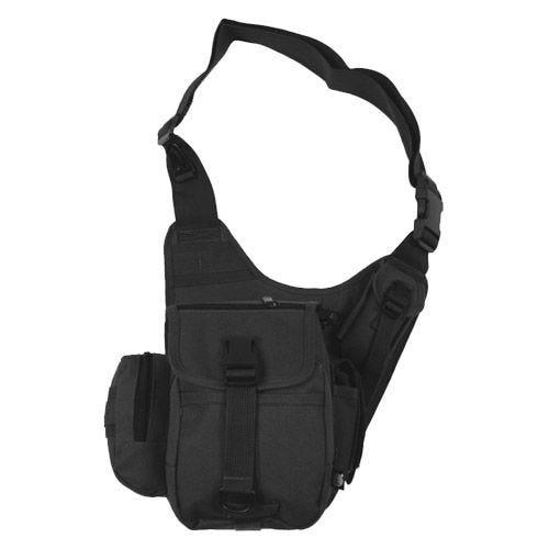 MFH borsa monospalla da combattimento in nero