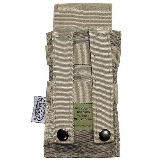 MFH custodia singola portacaricatore M4/M16 con attacco MOLLE in HDT Camo AU
