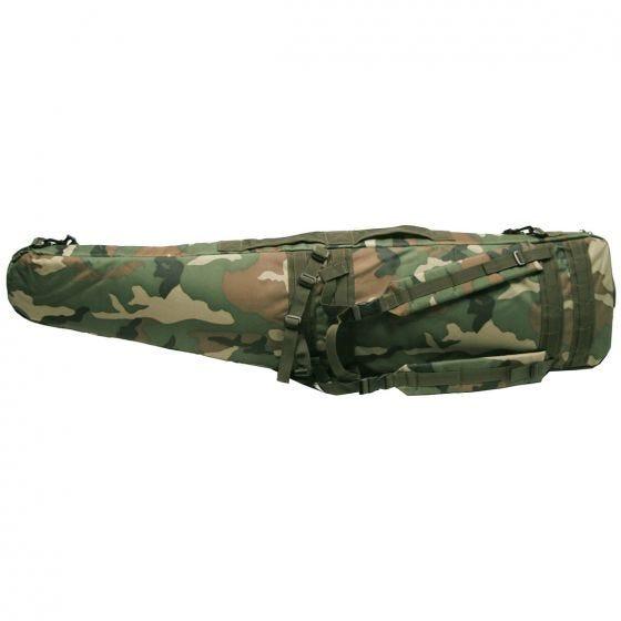 MFH custodia per fucile / Sniper in Woodland Camo