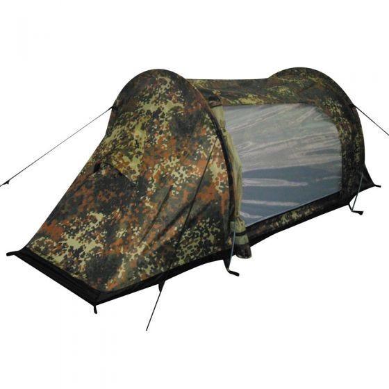 """MFH tenda """"Arber"""" con struttura in alluminio in Flecktarn"""