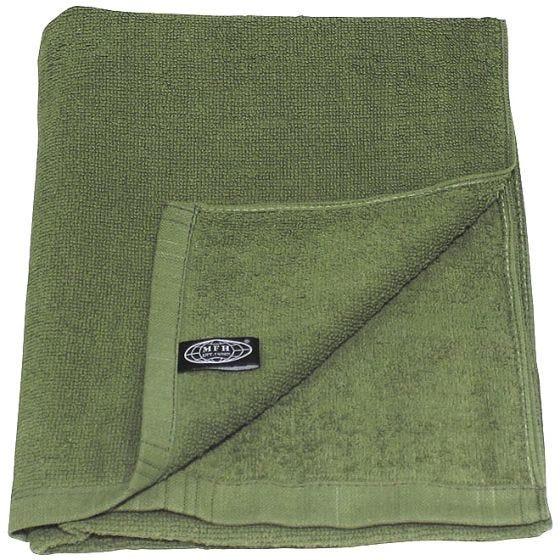 MFH asciugamano 110 x 50 cm in spugna in OD Green