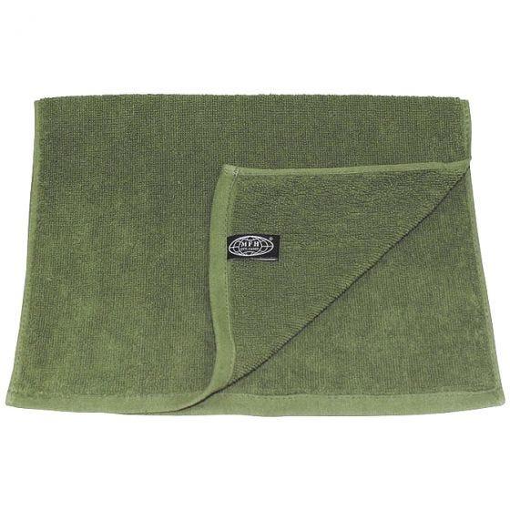 MFH asciugamano 30 x 50 cm in spugna in OD Green