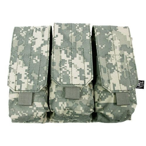 MFH custodia tripla portacaricatore M4/M16 MOLLE in ACU Digital