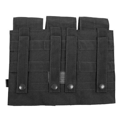 MFH custodia tripla portacaricatore M4/M16 MOLLE in nero