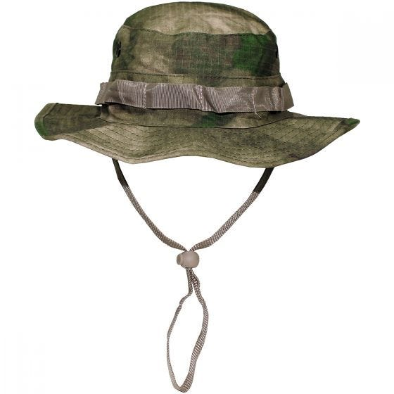 MFH cappello boonie GI in Ripstop HDT Camo FG