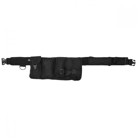 MFH cinta con 6 tasche in nero
