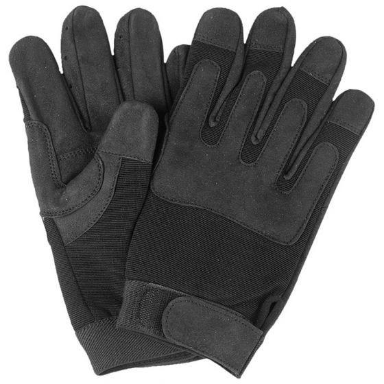 Mil-Tec guanti esercito in nero