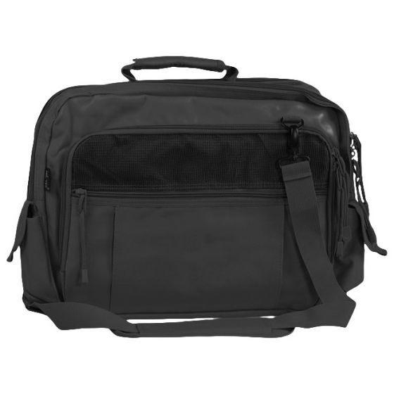 Mil-Tec borsa messenger Aviator per documenti in nero