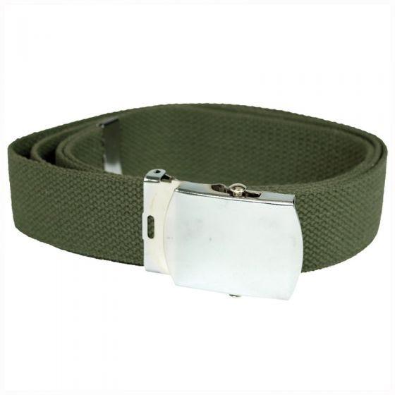 Mil-Tec cintura in tessuto verde oliva