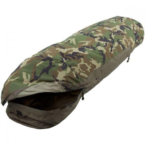 Mil-Tec copertura per sacco a pelo modulare 3 strati in Woodland