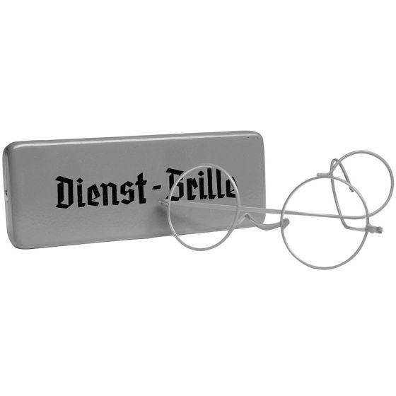 Mil-Tec Dienst-Brille con Custodia in Metallo