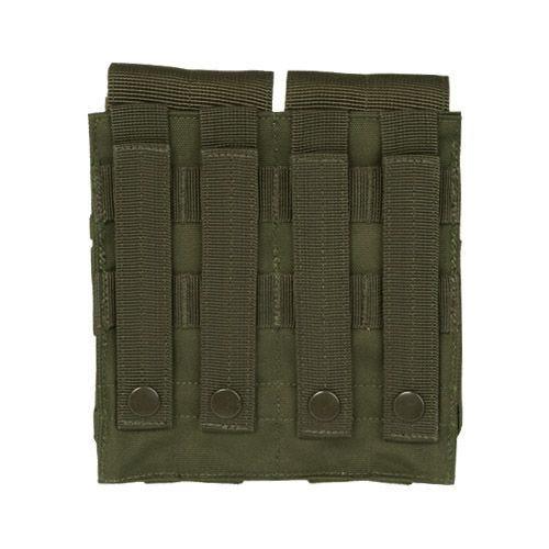 Mil-Tec custodia doppia portacaricatore M4/M16 MOLLE in verde oliva