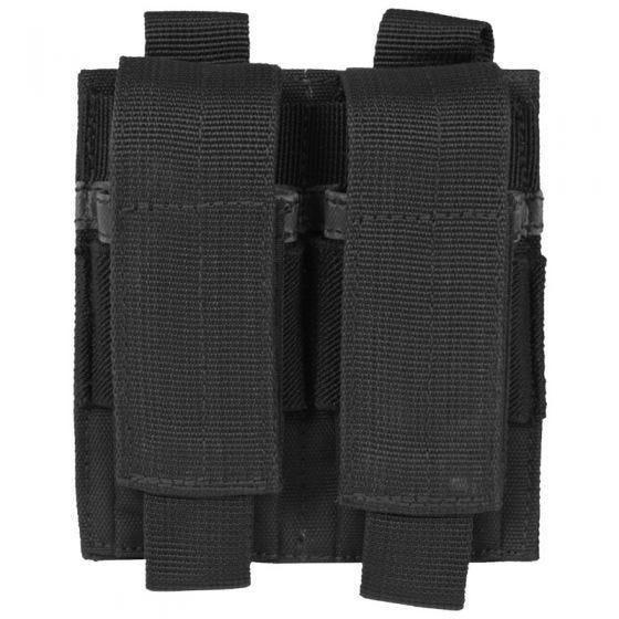 Mil-Tec doppio portacaricatore per pistola in nero