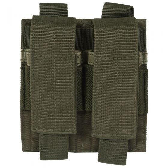 Mil-Tec doppio portacaricatore per pistola in verde oliva