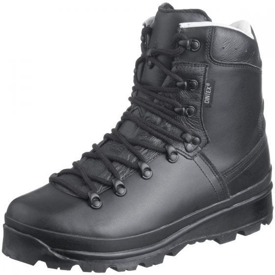 Mil-Tec scarponi da montagna esercito tedesco in nero