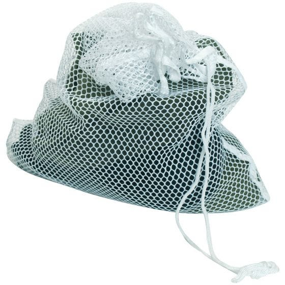 Mil-Tec sacchetto lavatrice in mesh 50x75cm in bianco