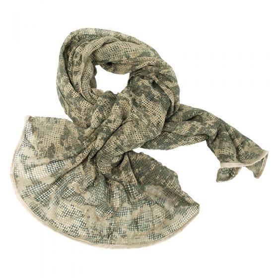 Mil-Tec sciarpa in rete in ACU Digital