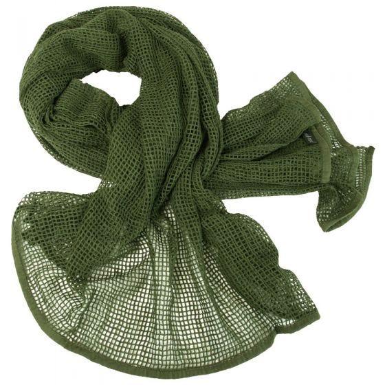 Mil-Tec sciarpa in rete in verde oliva
