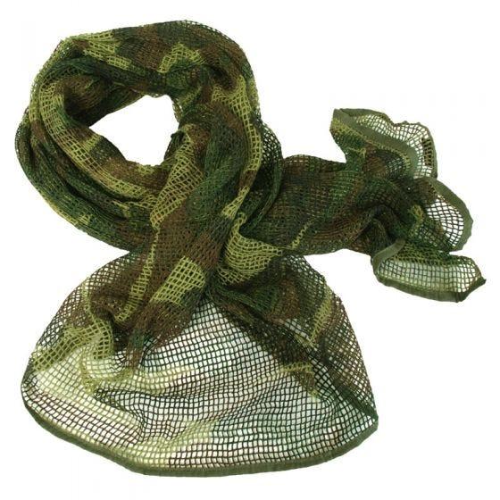 Mil-Tec sciarpa in rete in Woodland