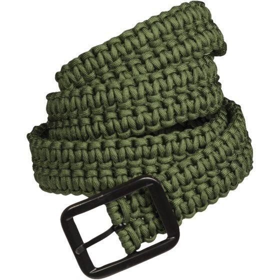 Mil-Tec cintura Paracord in verde oliva